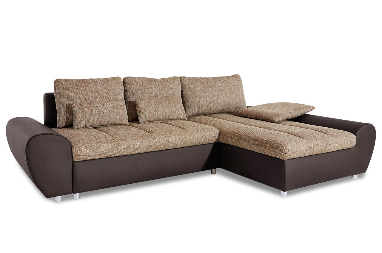 Sit more ecksofa bandos xxl braun sofas zum halben preis for Ecksofa 2 00