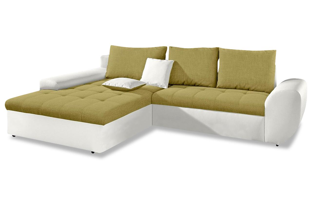 ecksofa mit schlaffunktion weiss sofas zum halben preis. Black Bedroom Furniture Sets. Home Design Ideas