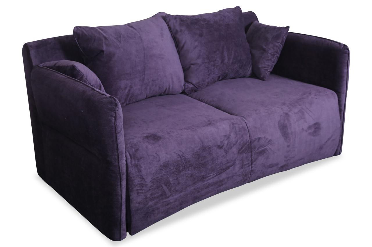 Stagra 2er-Sofa Vario-P - mit Schlaffunktion - Violette ...