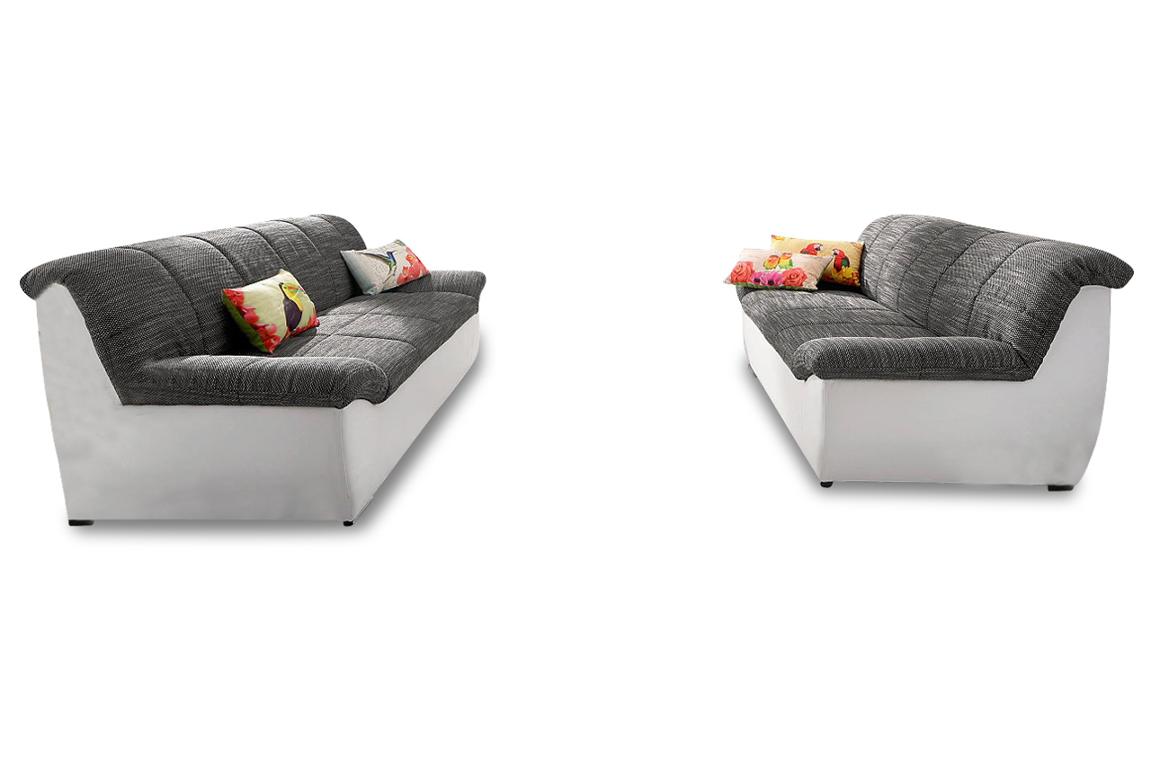 garnitur 3 2 square grau sofas zum halben preis. Black Bedroom Furniture Sets. Home Design Ideas
