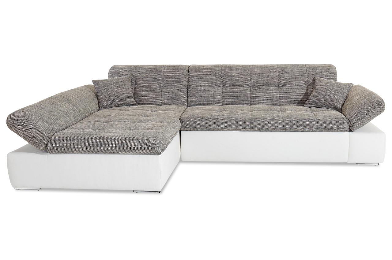 Ecksofa moric kis mit schlaffunktion anthrazit sofa for Ecksofa ebay