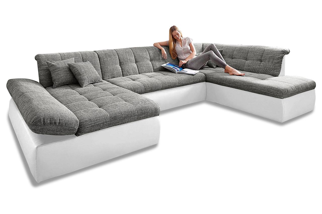 wohnlandschaft moric kis rechts anthrazit sofas zum halben preis. Black Bedroom Furniture Sets. Home Design Ideas