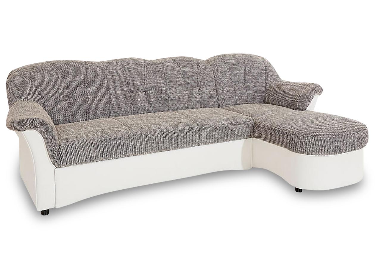 ecksofa flores mit schlaffunktion weiss sofas zum. Black Bedroom Furniture Sets. Home Design Ideas