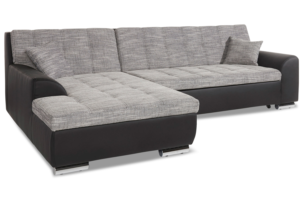 ecksofa treviso mit schlaffunktion anthrazit sofas. Black Bedroom Furniture Sets. Home Design Ideas