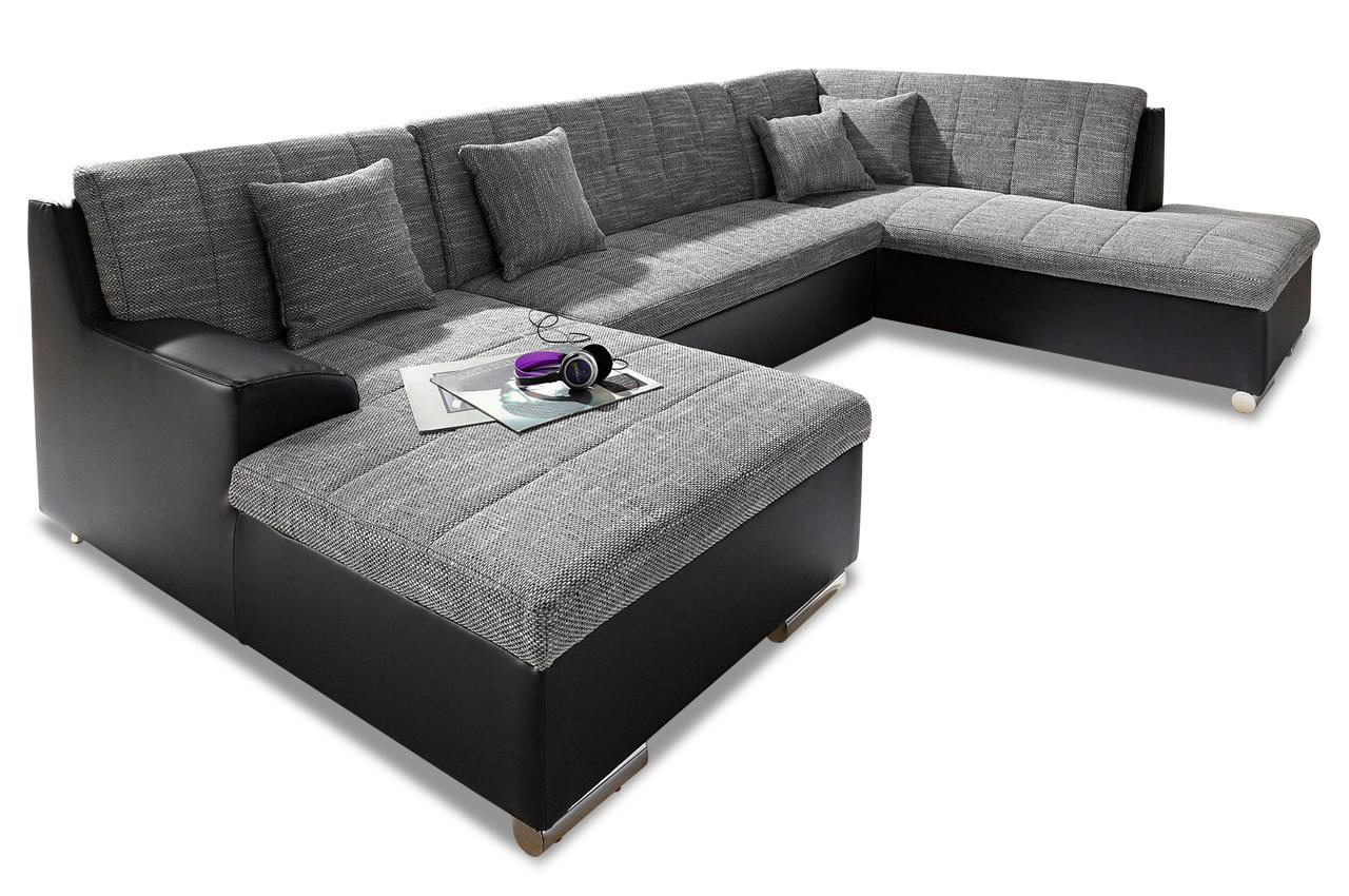 wohnlandschaft jump mit bett sofas zum halben preis. Black Bedroom Furniture Sets. Home Design Ideas