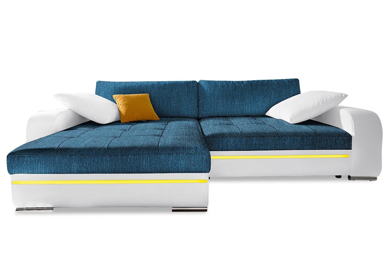xxl polsterecke heaven mit bett led und sound sofas zum halben preis. Black Bedroom Furniture Sets. Home Design Ideas
