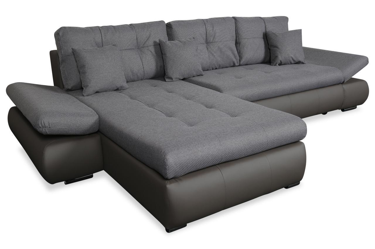 PL Sofa L-Form Enrico-P links - mit Relax und ...