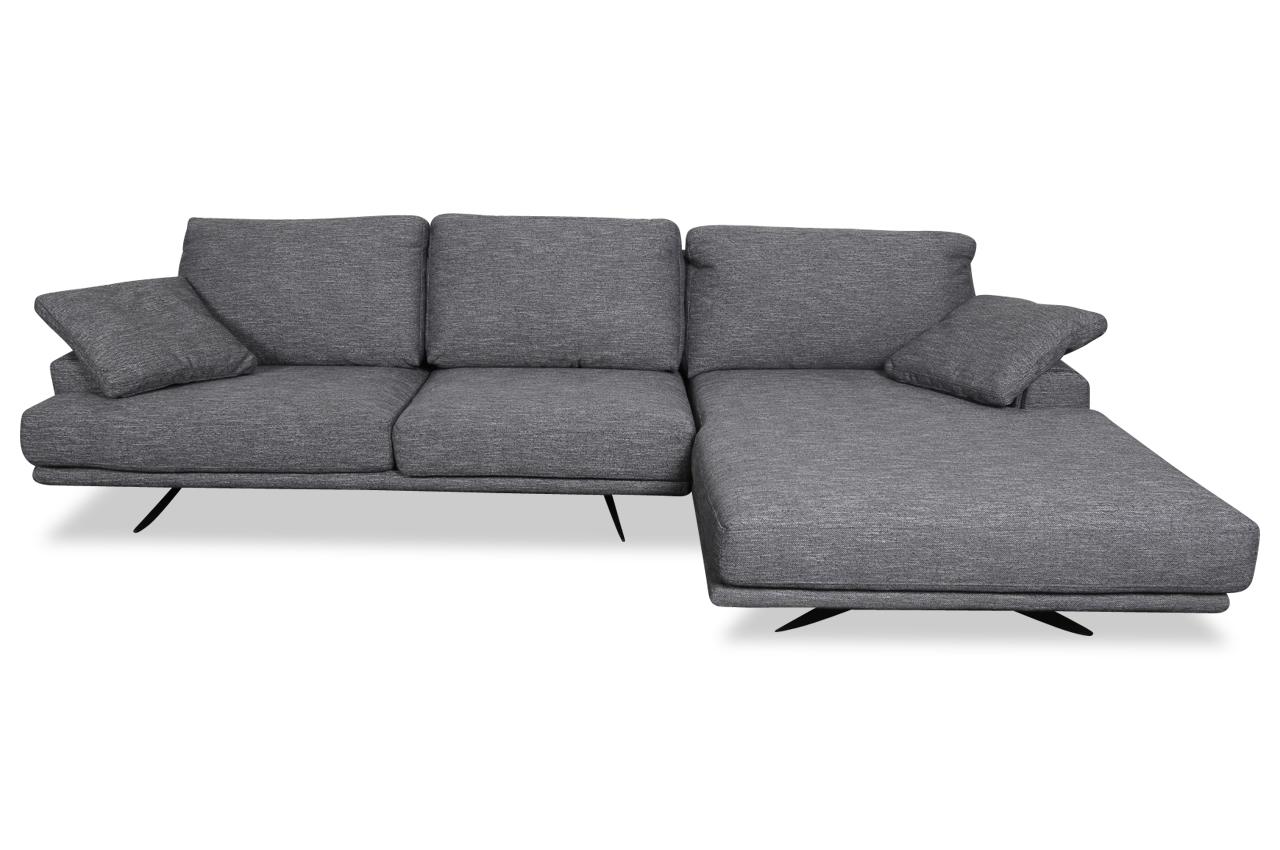 Sofa L-Form Dolce- P rechts - Grau   Sofas zum halben Preis
