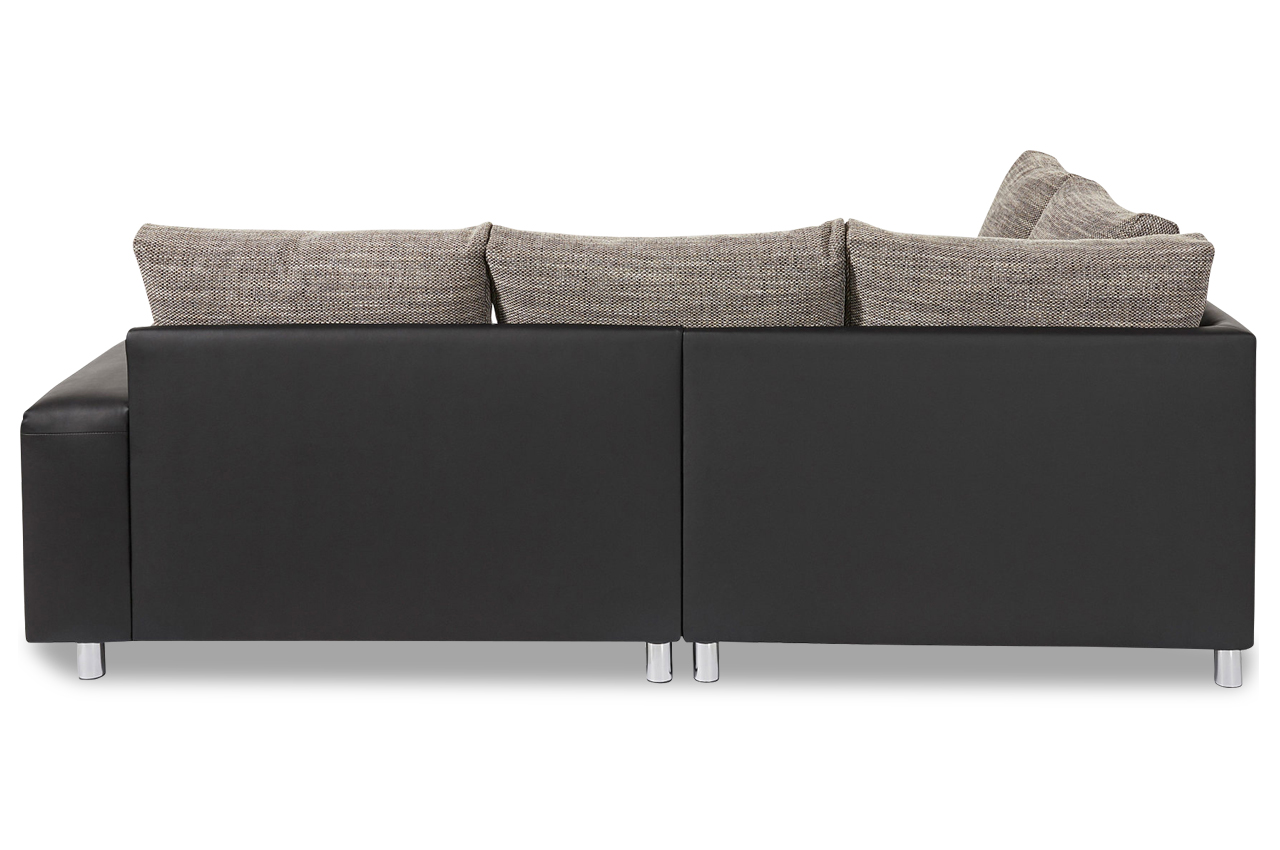 nova via ecksofa xl tobi anthrazit sofas zum halben preis. Black Bedroom Furniture Sets. Home Design Ideas
