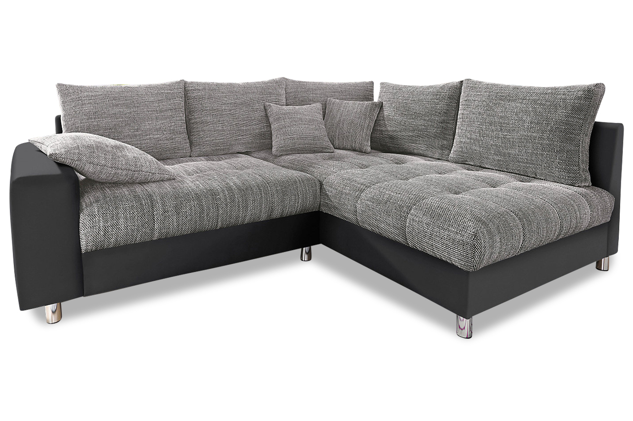nova via ecksofa xl tobi grau sofas zum halben preis. Black Bedroom Furniture Sets. Home Design Ideas