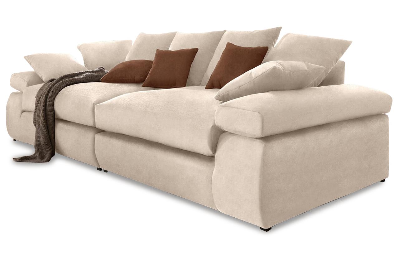 Xxl Bigsofa Cabana Microfaser Sofa Couch Ecksofa Ebay