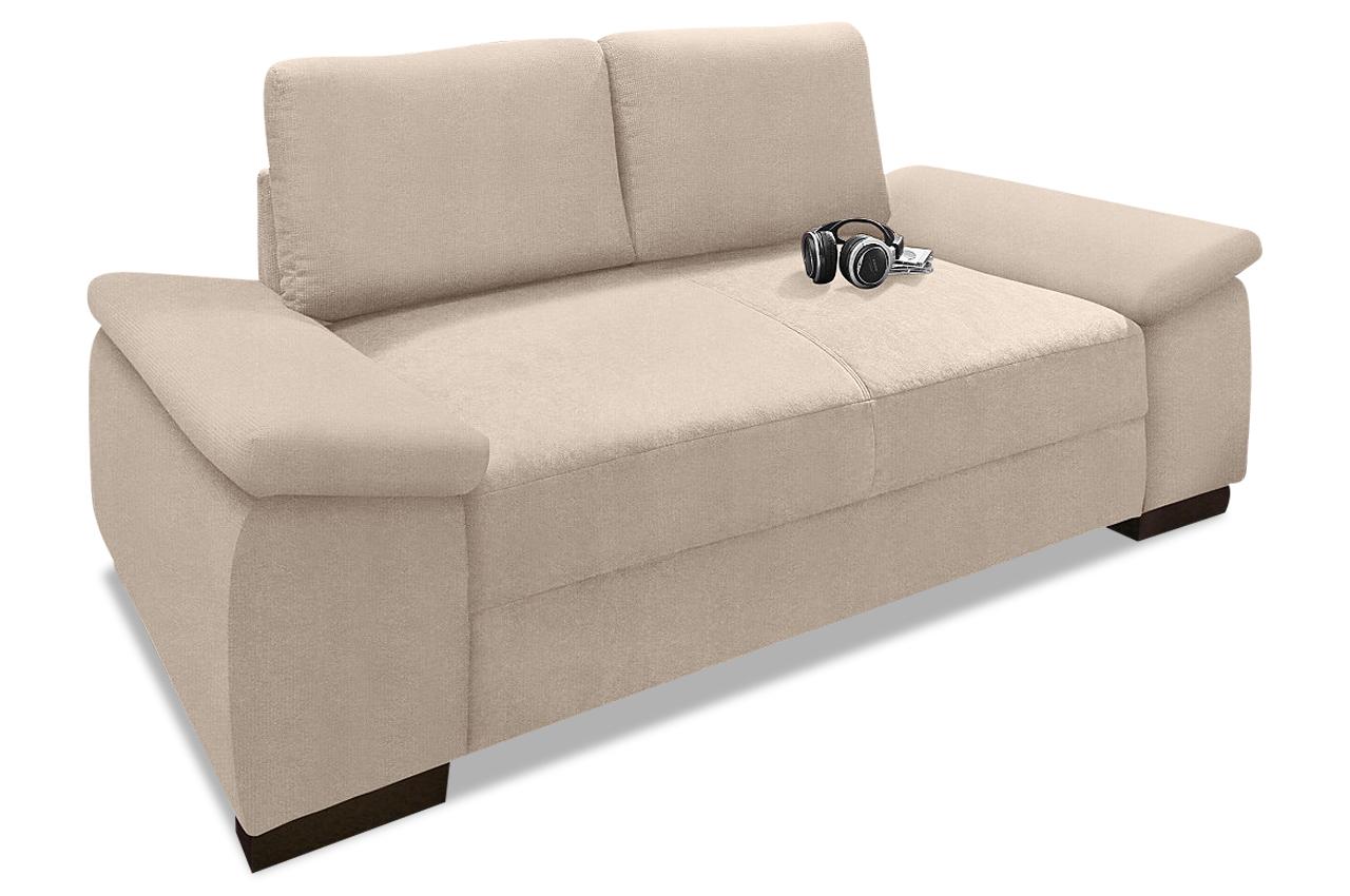 2er sofa trinidad creme mit boxspring sofas zum halben preis. Black Bedroom Furniture Sets. Home Design Ideas