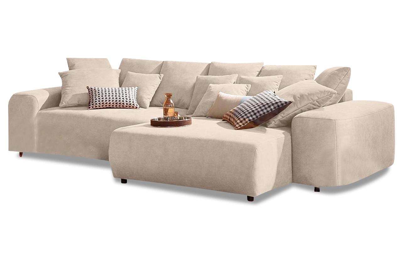 xxl polsterecke glamour mit bett sofas zum halben preis. Black Bedroom Furniture Sets. Home Design Ideas