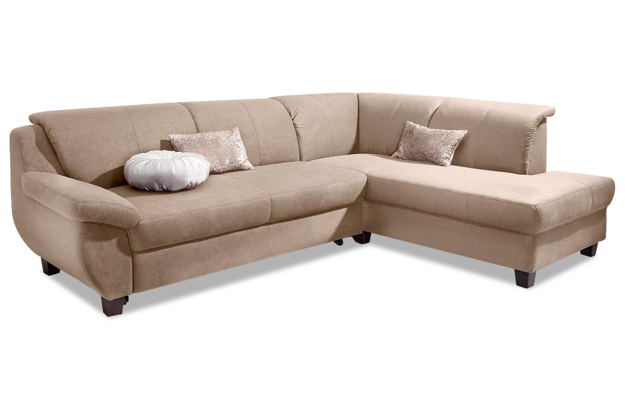ecksofa mit schlaffunktion natur. Black Bedroom Furniture Sets. Home Design Ideas