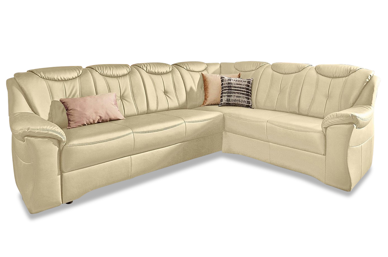 leder ecksofa xl creme sofas zum halben preis. Black Bedroom Furniture Sets. Home Design Ideas