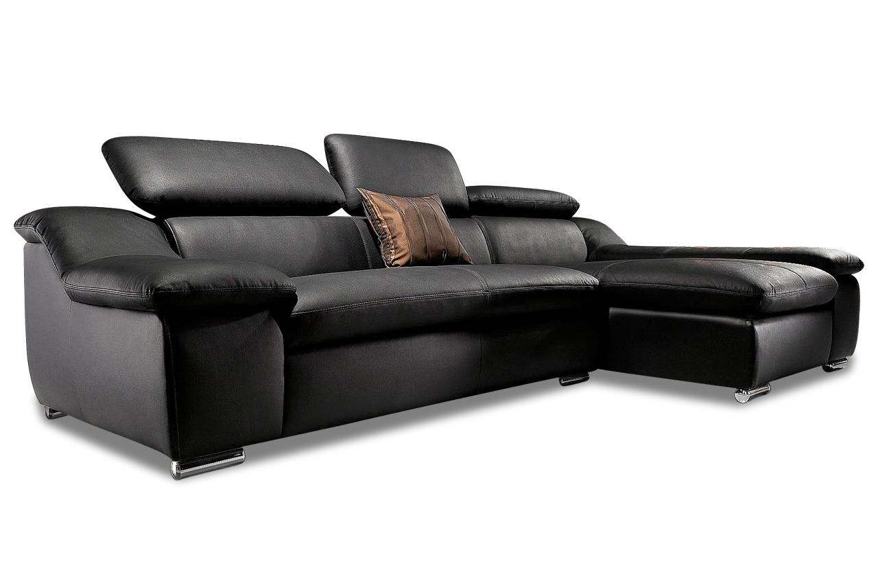 Polsterecke vincent echt leder sofa couch ecksofa ebay Sofa echt leder