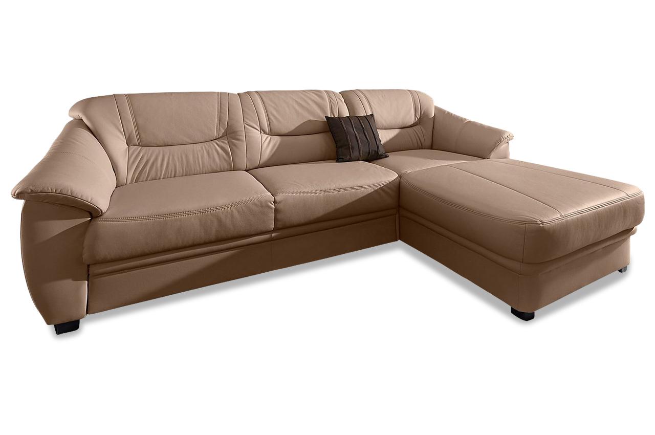 leder ecksofa braun mit federkern sofas zum halben preis. Black Bedroom Furniture Sets. Home Design Ideas