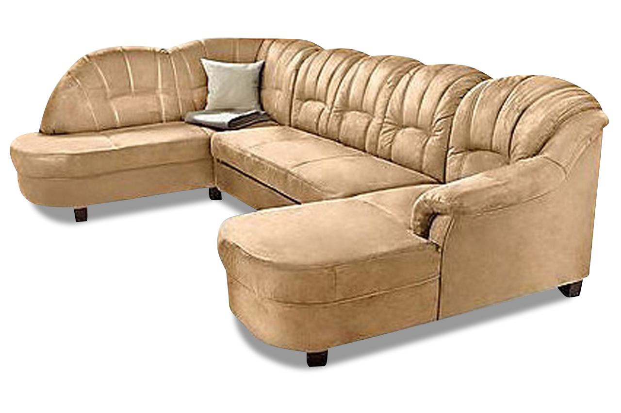 wohnlandschaft budapest mit schlaffunktion braun sofas zum halben preis. Black Bedroom Furniture Sets. Home Design Ideas