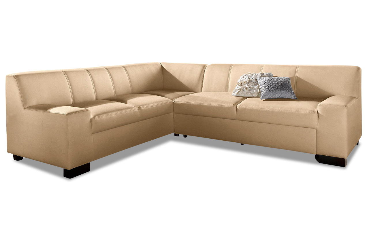 leder ecksofa xl norma braun sofas zum halben preis. Black Bedroom Furniture Sets. Home Design Ideas
