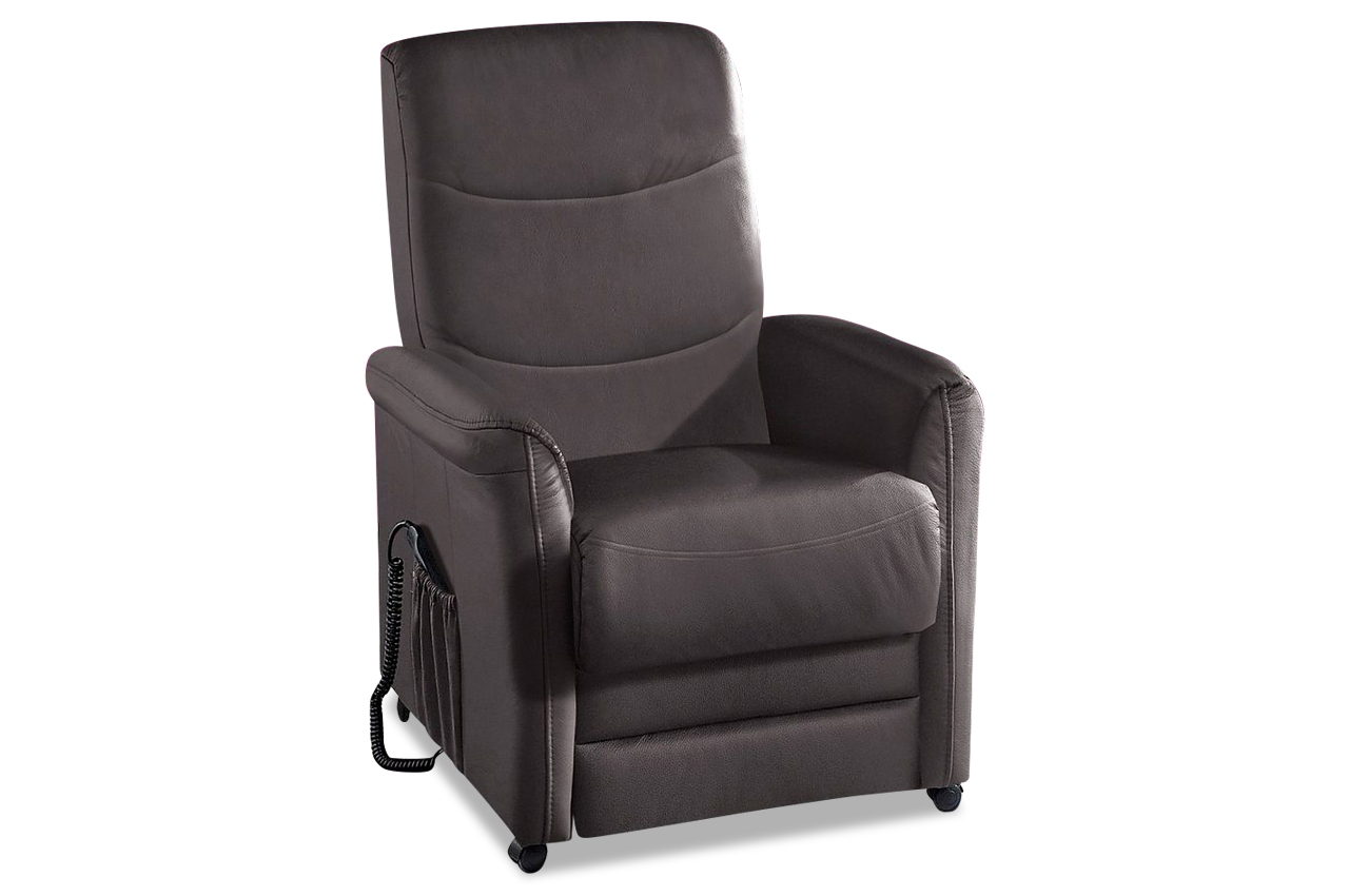 leder fernsehsessel braun sofas zum halben preis. Black Bedroom Furniture Sets. Home Design Ideas