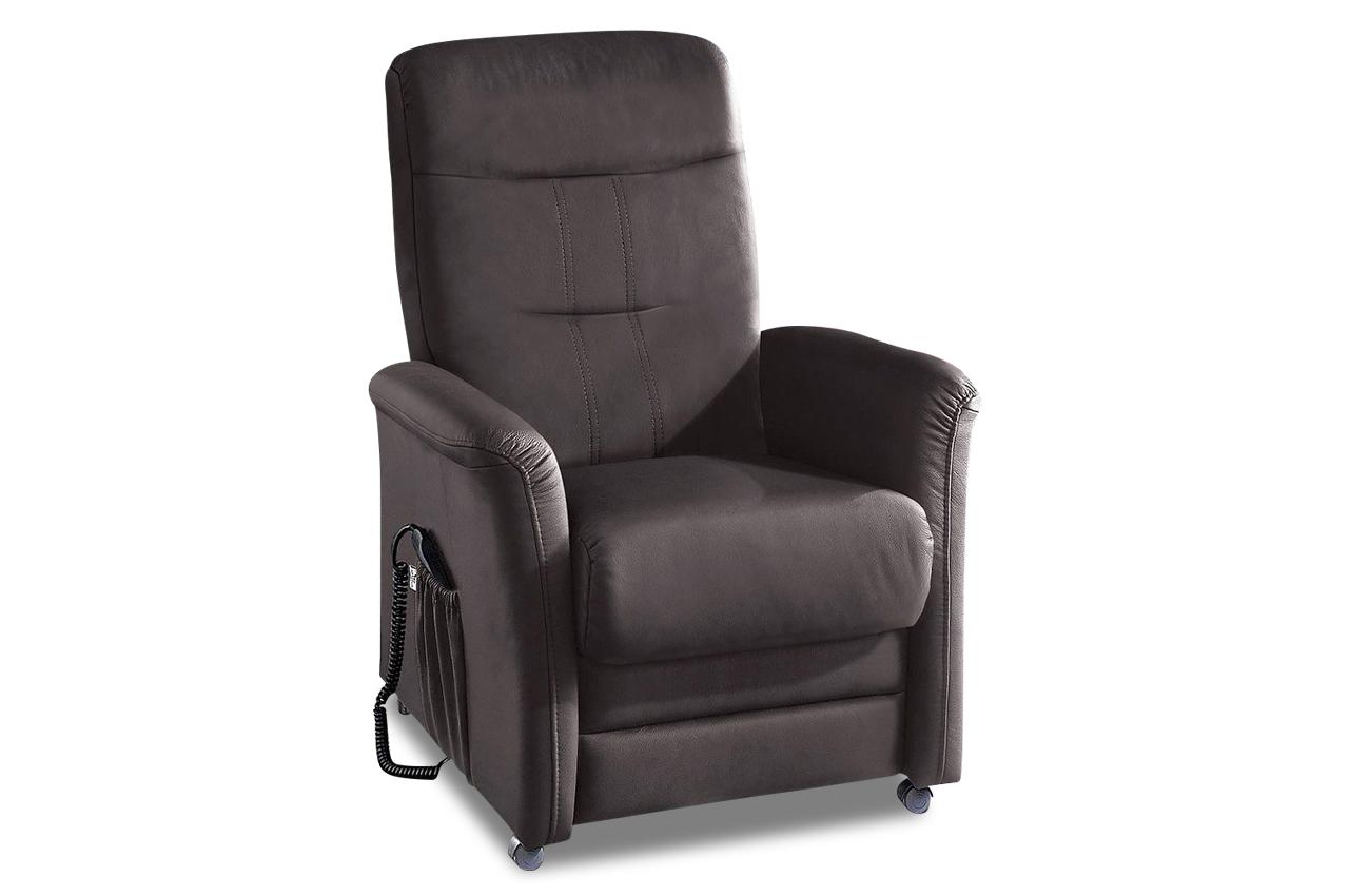 Fernsehsessel tv charlie mit relax grau sofas zum for Fernsehsessel braun