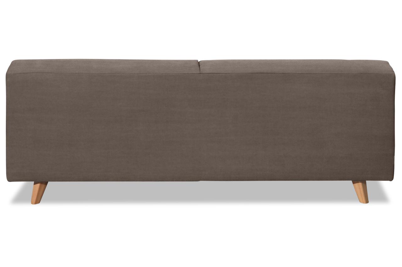 tom tailor 2er sofa nordic pure braun sofas zum halben. Black Bedroom Furniture Sets. Home Design Ideas