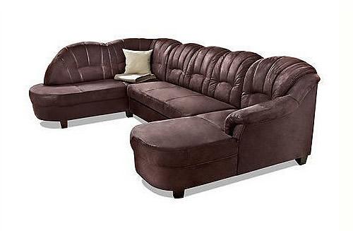 premium leder wohnlandschaft graz mit schlaffunktion braun sofas zum halben preis. Black Bedroom Furniture Sets. Home Design Ideas