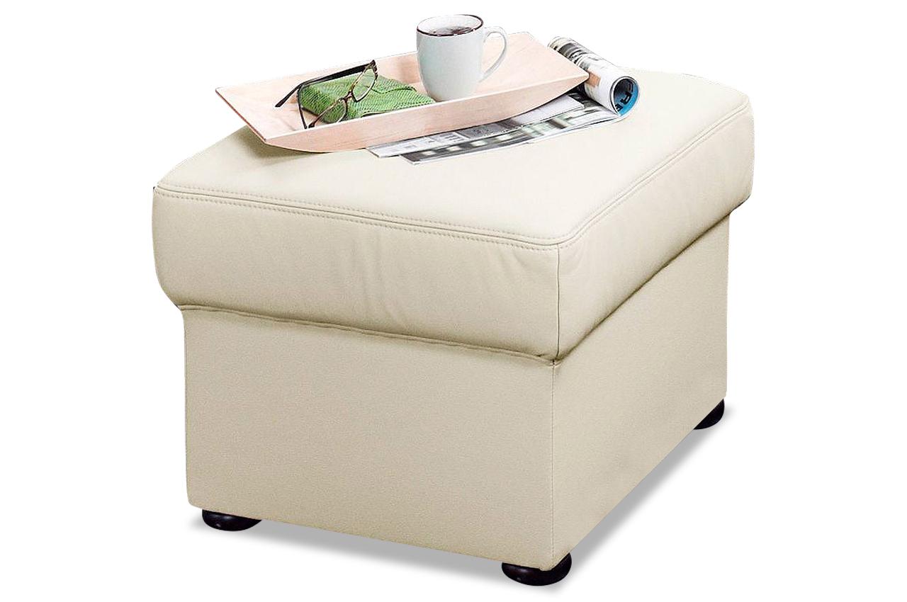 leder hocker weiss sofas zum halben preis. Black Bedroom Furniture Sets. Home Design Ideas