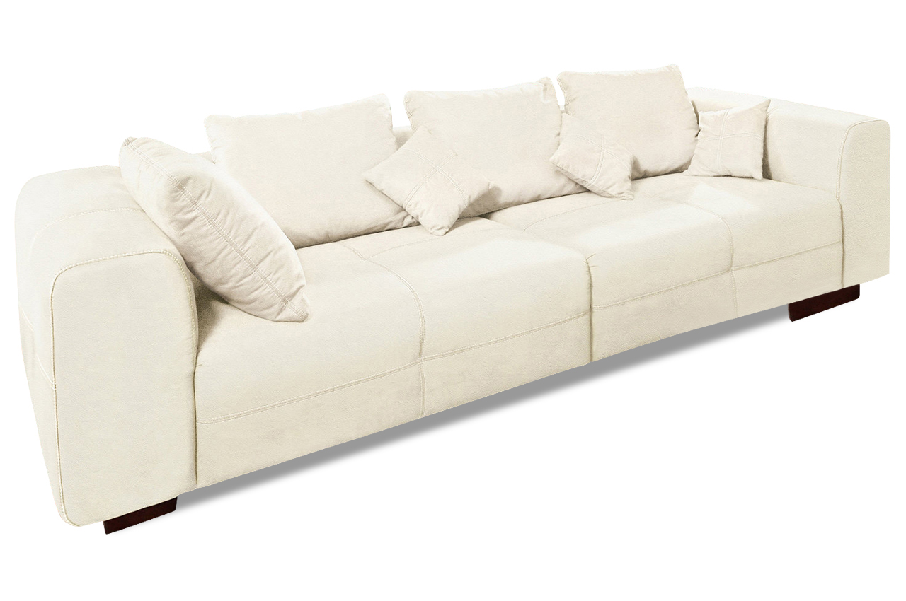 leder bigsofa creme sofas zum halben preis. Black Bedroom Furniture Sets. Home Design Ideas
