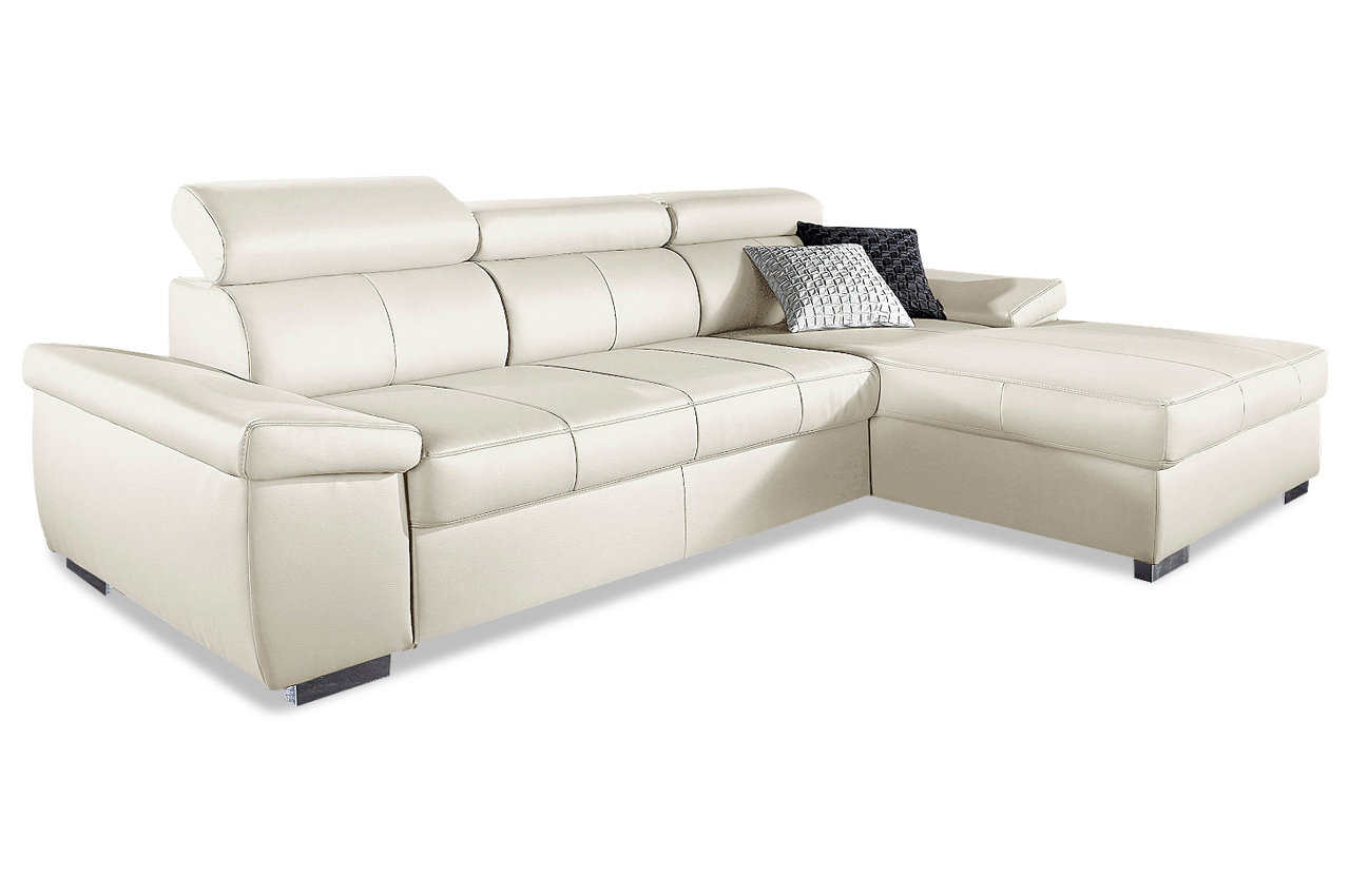 leder ecksofa creme sofas zum halben preis. Black Bedroom Furniture Sets. Home Design Ideas