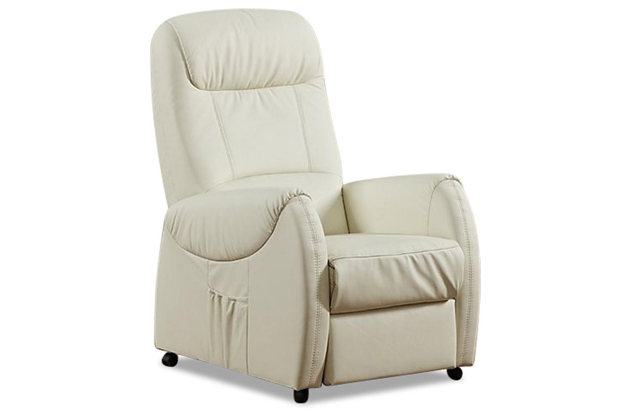 leder fernsehsessel mit relax weiss sofas zum halben preis. Black Bedroom Furniture Sets. Home Design Ideas