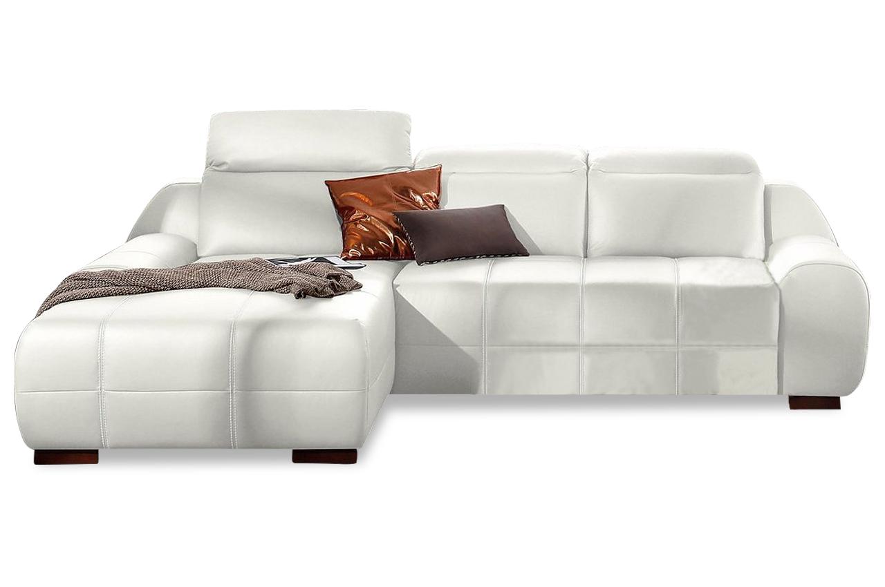 leder ecksofa mit schlaffunktion weiss sofas zum halben preis. Black Bedroom Furniture Sets. Home Design Ideas