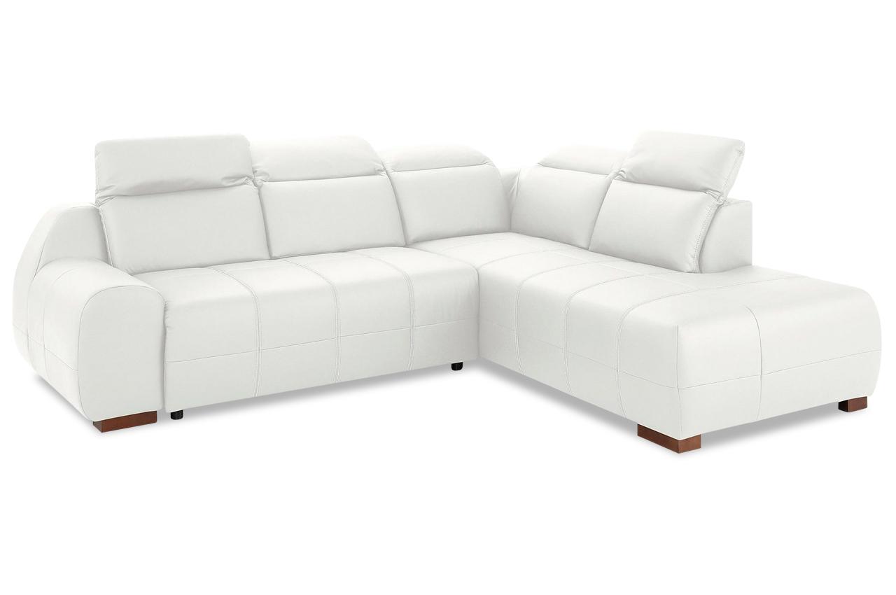 leder ecksofa xl mit schlaffunktion weiss mit federkern sofas zum halben preis. Black Bedroom Furniture Sets. Home Design Ideas