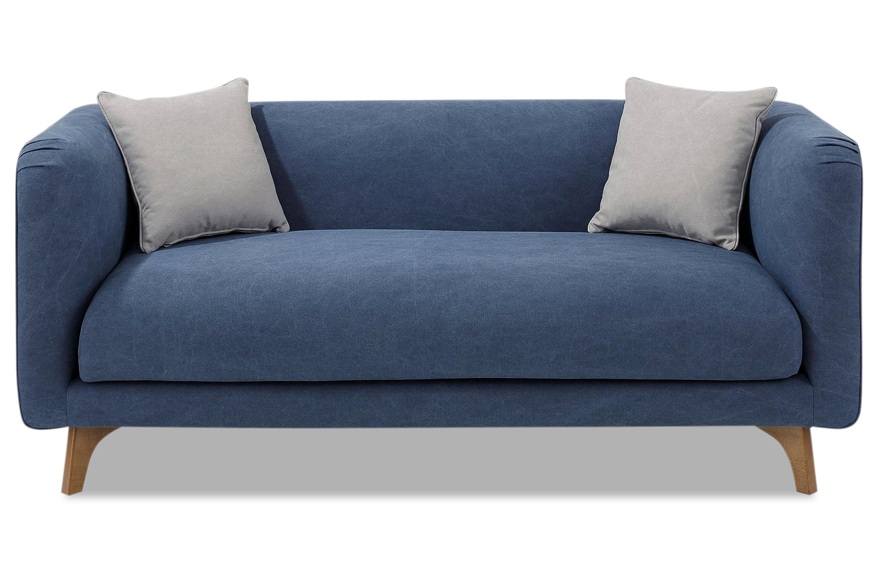 stolmar 2er sofa maja blau sofas zum halben preis. Black Bedroom Furniture Sets. Home Design Ideas