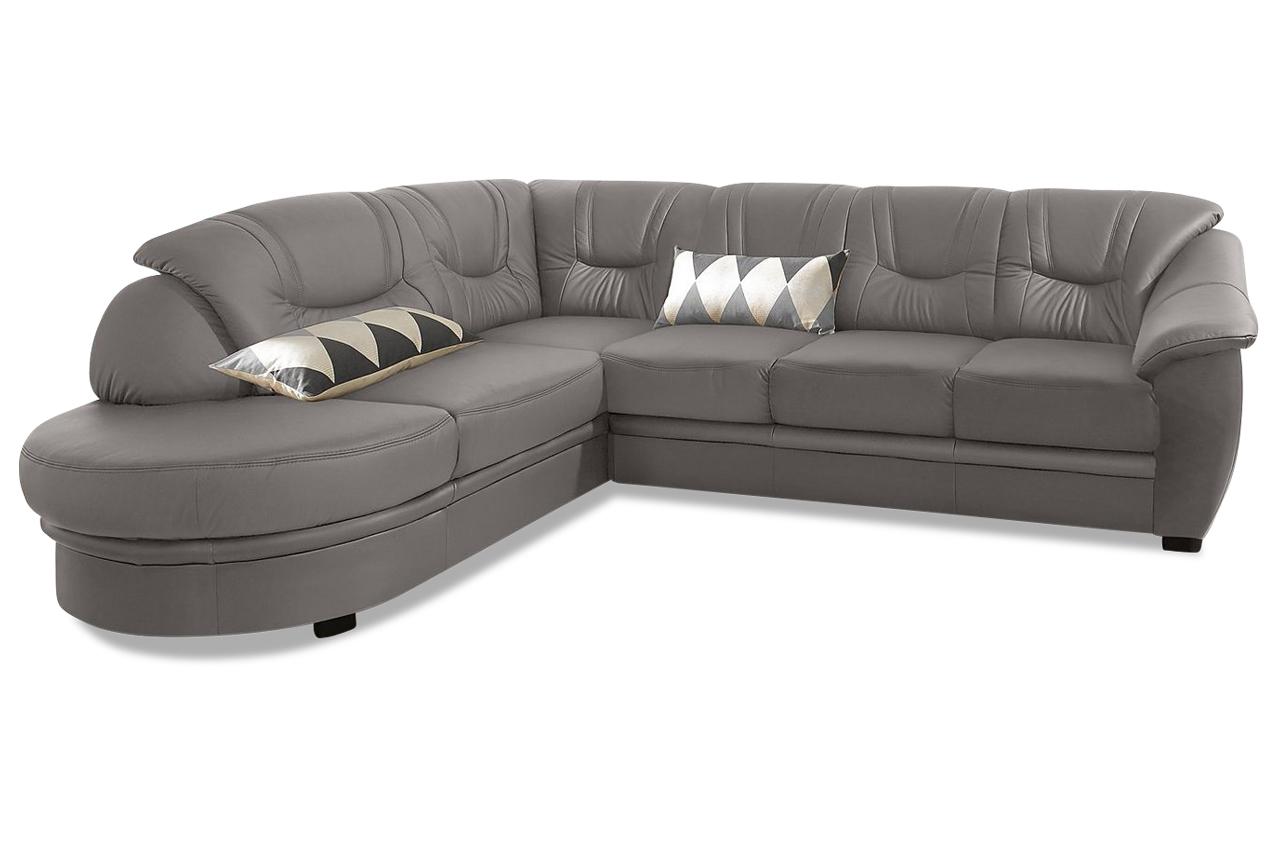 Leder ecksofa xl grau sofas zum halben preis for Leder ecksofa grau
