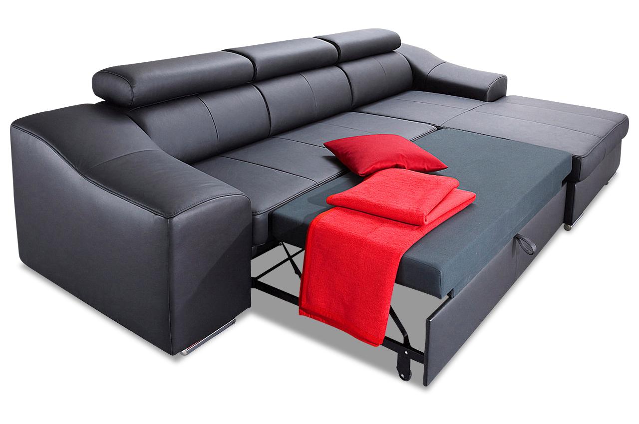 leder ecksofa skyfall mit schlaffunktion grau sofas zum halben preis. Black Bedroom Furniture Sets. Home Design Ideas