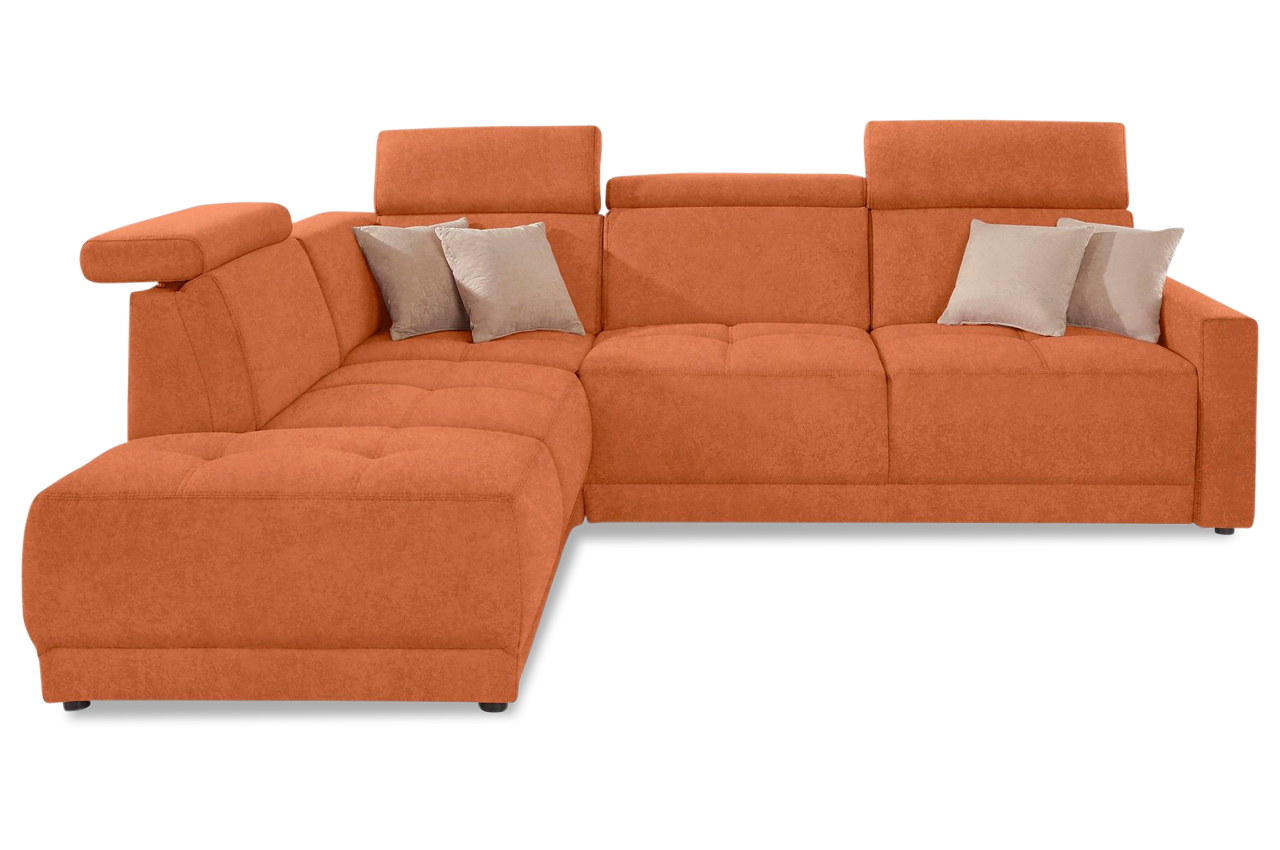 Ecksofa xl ava orange sofas zum halben preis for Ecksofa 2 00