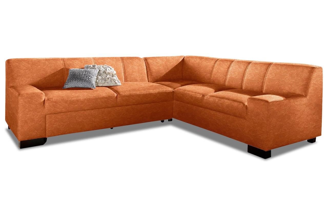 ecksofa xl norma orange sofas zum halben preis. Black Bedroom Furniture Sets. Home Design Ideas