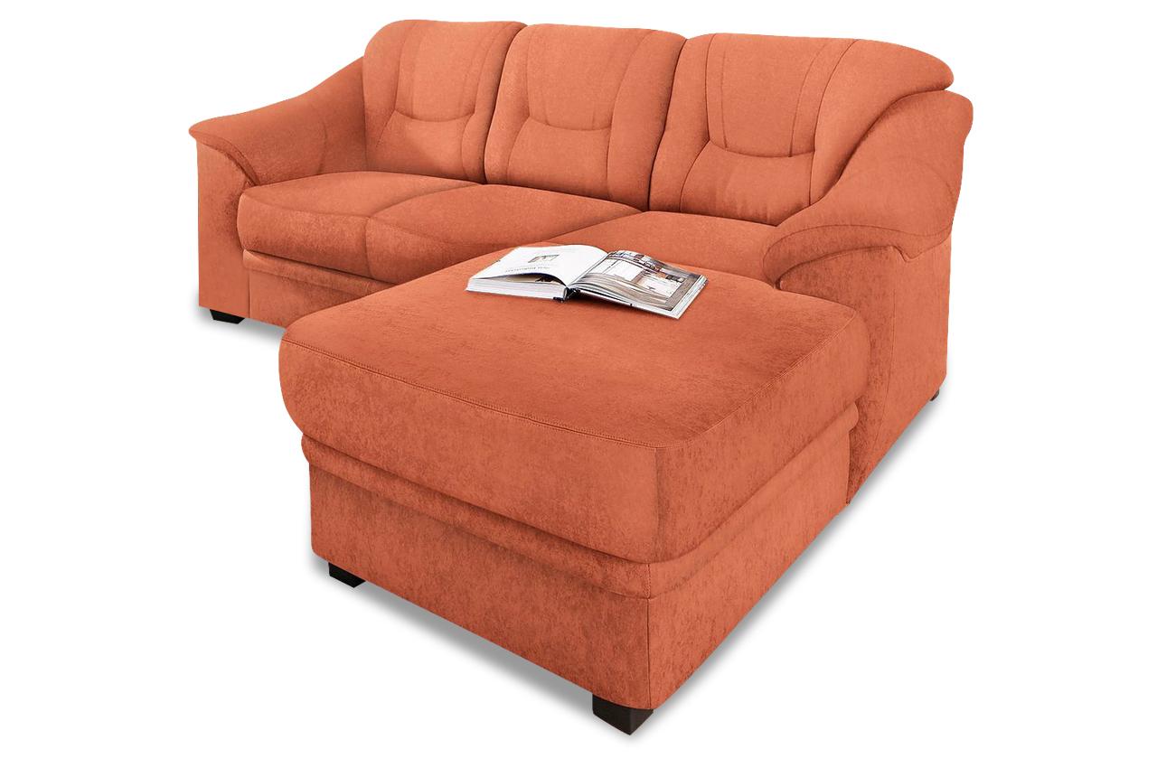 ecksofa orange mit federkern sofas zum halben preis. Black Bedroom Furniture Sets. Home Design Ideas