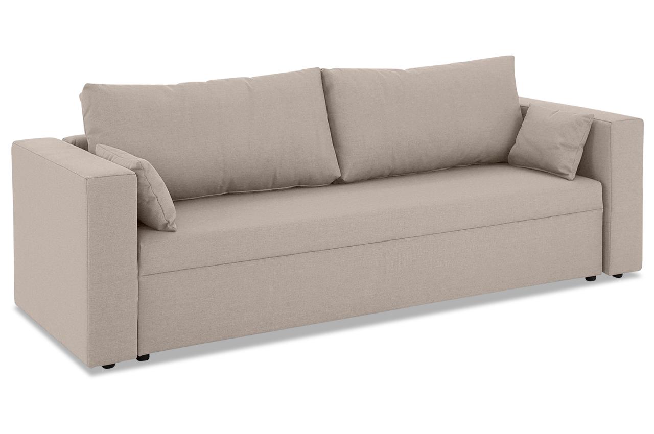stolmar 3er sofa slime braun sofas zum halben preis. Black Bedroom Furniture Sets. Home Design Ideas