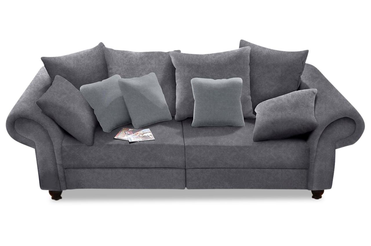 Großartig Big Sofa Microfaser Dekoration Von Bigsofa King George - Grau