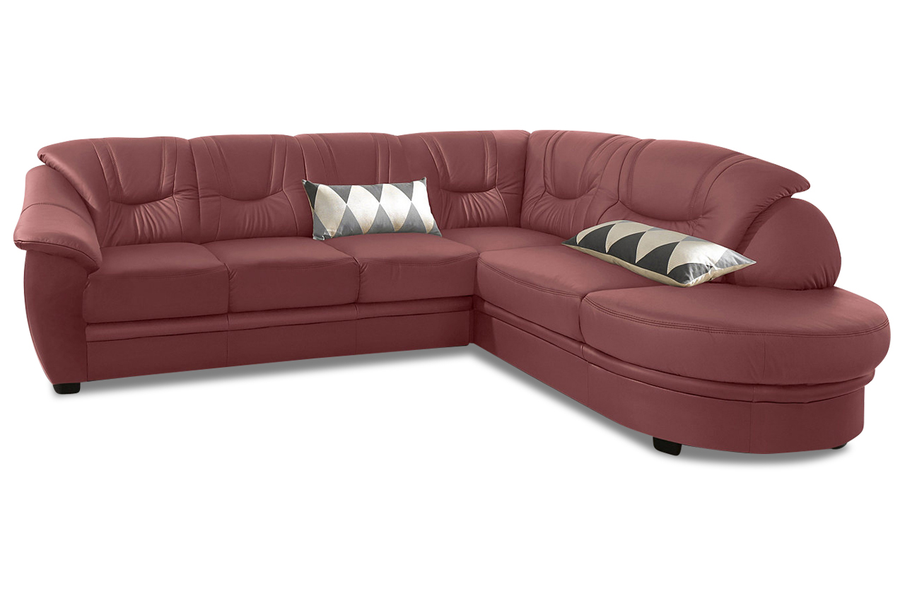 leder ecksofa xl rot mit federkern sofas zum halben preis. Black Bedroom Furniture Sets. Home Design Ideas