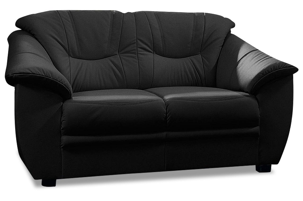 leder 2er sofa schwarz sofas zum halben preis