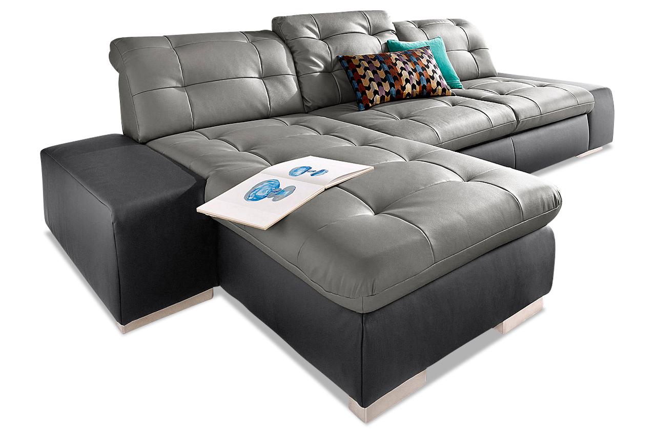 sit more ecksofa palomino xl mit schlaffunktion schwarz sofa couch ecksof ebay. Black Bedroom Furniture Sets. Home Design Ideas