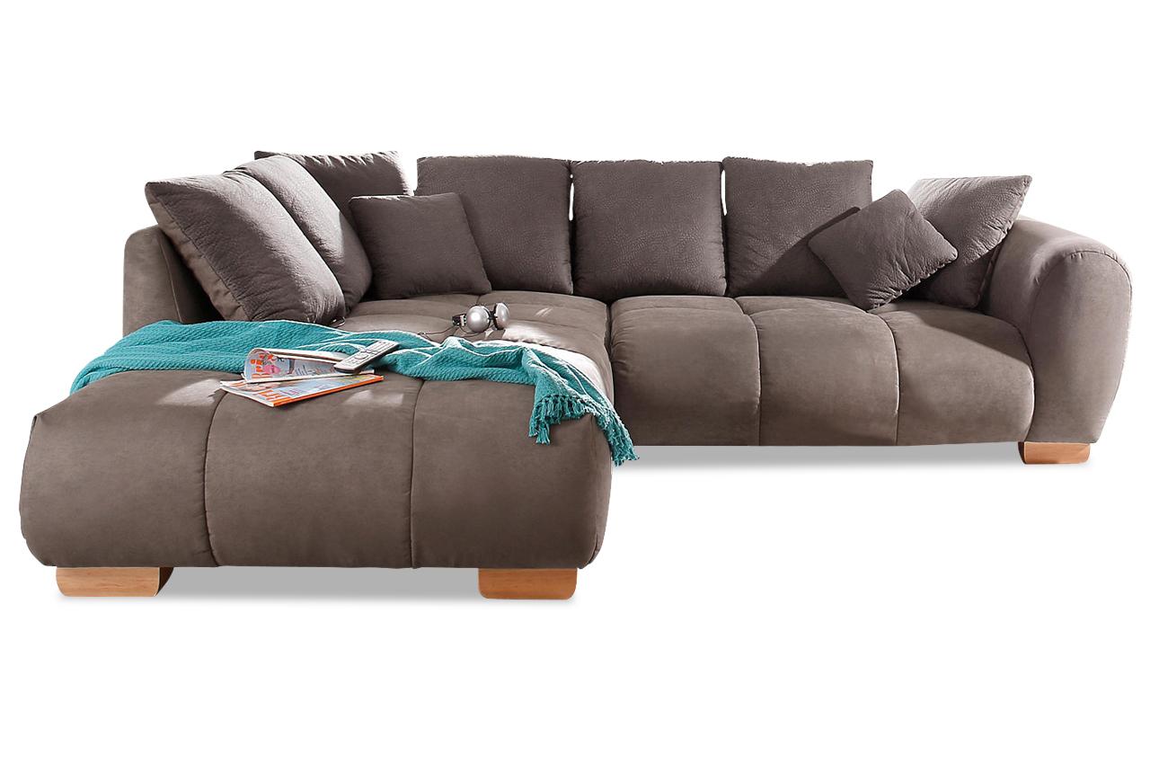Ecksofa indianapolis braun sofas zum halben preis for Ecksofa braun