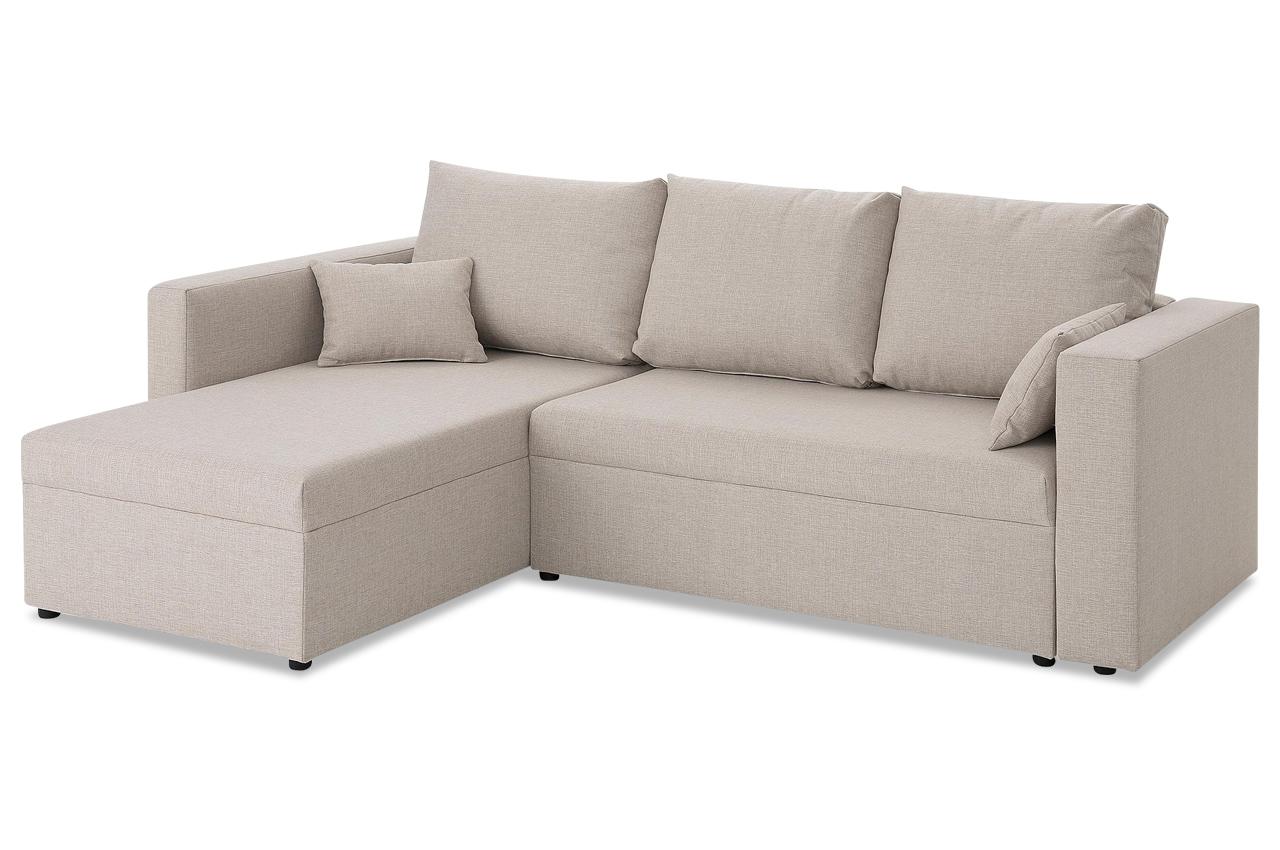 stolmar ecksofa slime creme microfaser sofa couch. Black Bedroom Furniture Sets. Home Design Ideas
