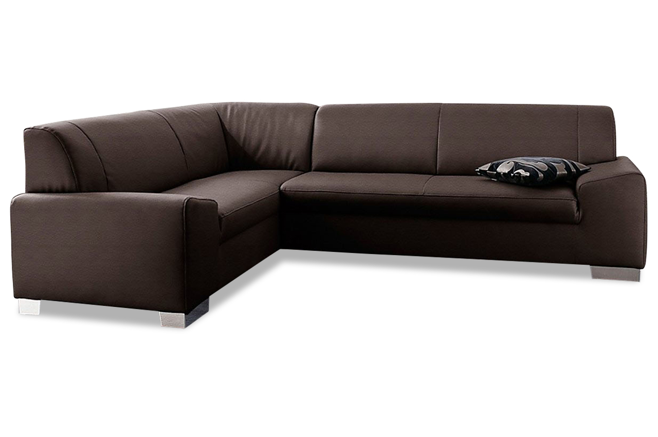 ecksofa xl alisson braun sofas zum halben preis. Black Bedroom Furniture Sets. Home Design Ideas