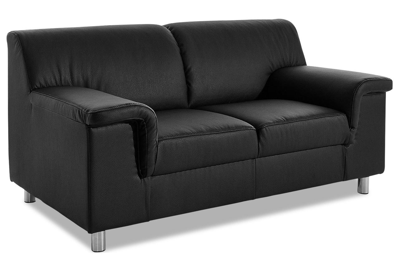 2er sofa jamie schwarz sofas zum halben preis. Black Bedroom Furniture Sets. Home Design Ideas