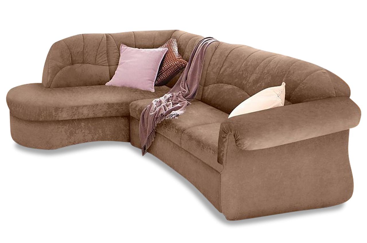 ecksofa braun schlaffunktion ecksofa elvira in braun mit. Black Bedroom Furniture Sets. Home Design Ideas