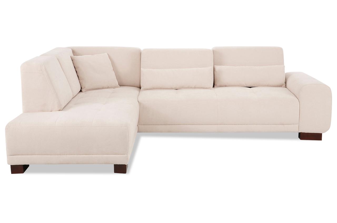 Ecksofa xl mercury mit sitzverstellung creme sofas for Ecksofa 2 00